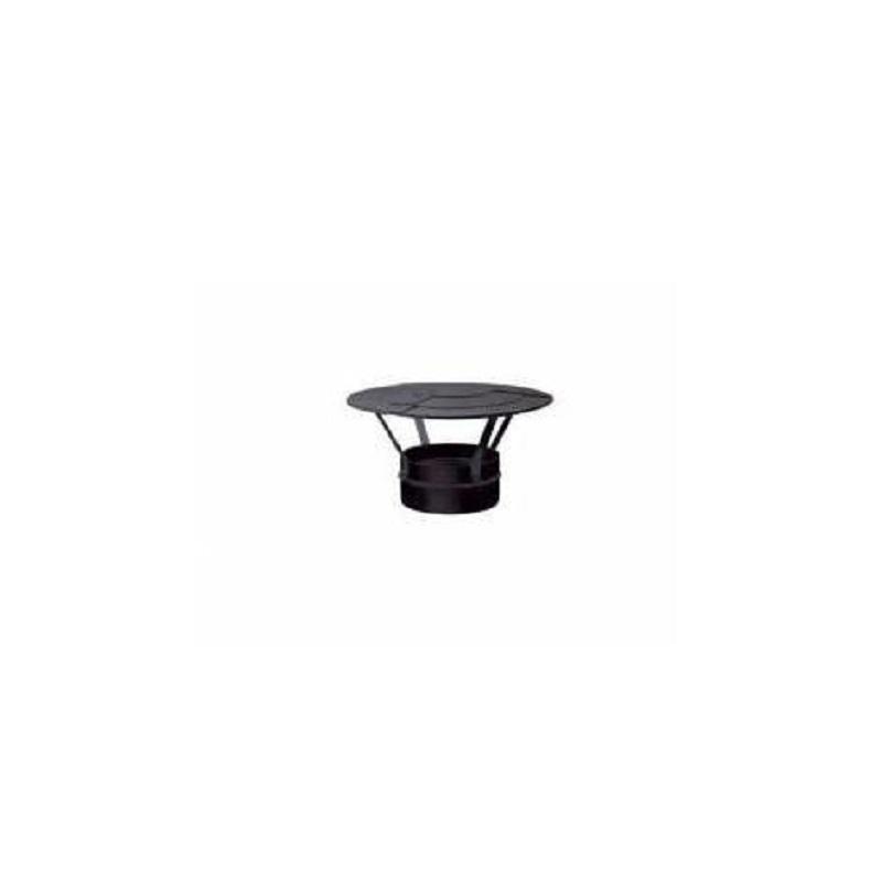 cappello-cinese-80-monoparete-in-alluminio-nero-stabile puntotermoidraulica