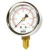 manometro a membrana dn 63 per gas attacco radiale puntotermoidraulicaù