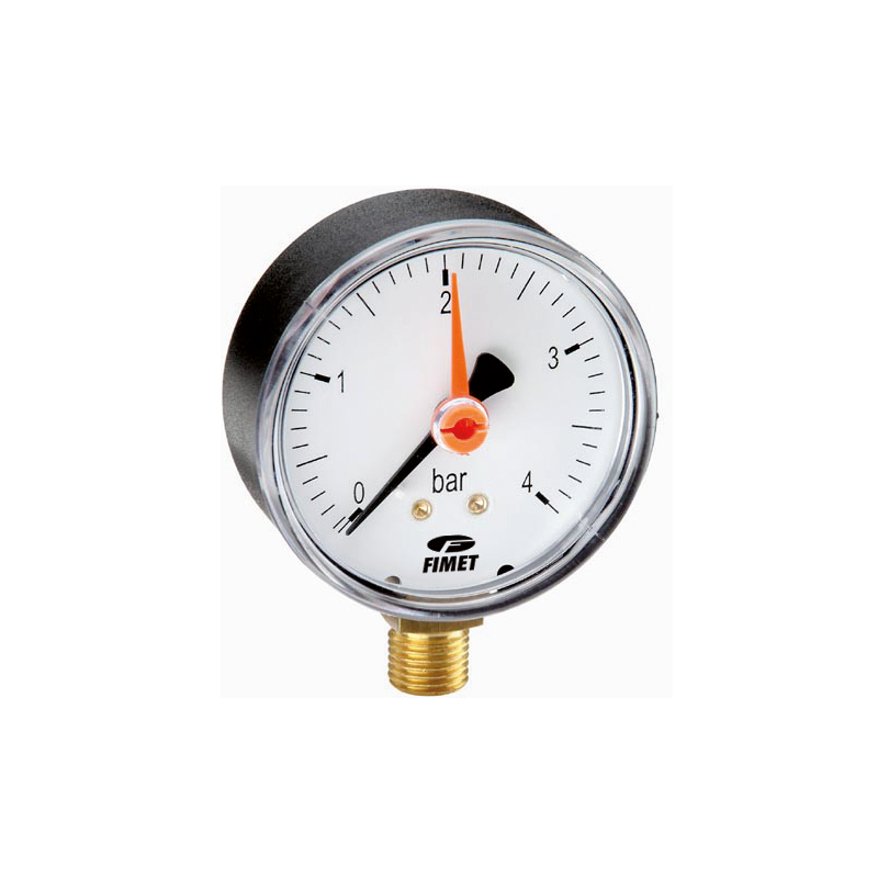 manometro dn50 radiale puntotermoidraulica