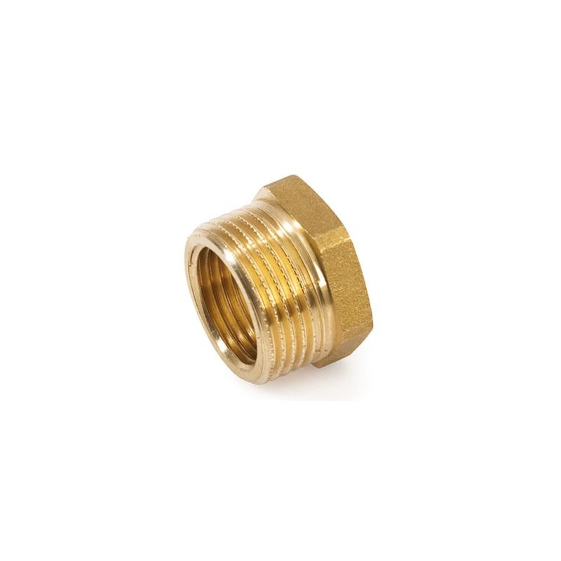 riduzione ottone giallo puntotermoidraulica