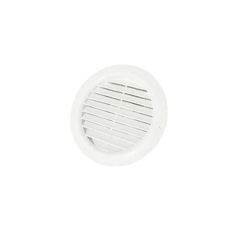 griglie circolari da incasso in plastica con rete puntotermoidraulica