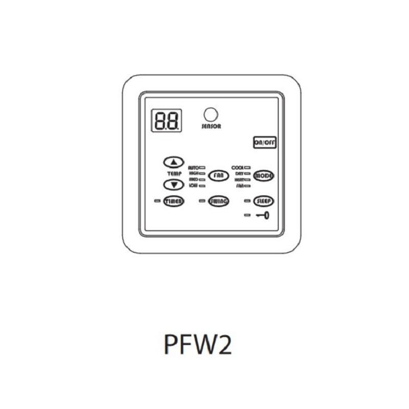aermec-pfw2-comando-filo
